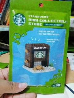 Starbucks nanoblock mini store collectibles