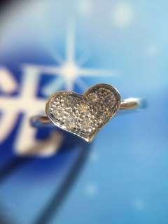 ❤️✨❤️ 18K 天然鑽石戒指 ❤️✨❤️