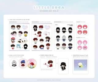 [SHARE] Little Suga Sticker Set Ver 3