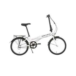 Trendy Fordable Bike 20 inch Folding Bike  FUTUR AB2001 YS-7754 Single Speed (White)