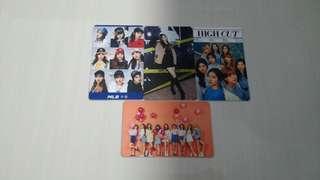 Twice photo cards