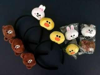 Line Headband & Hair Clip - BTS Jimin