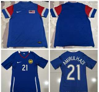 Combo Malaysia away 2009 and 2010 national team jersi jersey f0fbf7fea