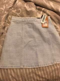 Denim skirt size 6 AU