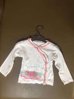 Baby blouse long sleeves