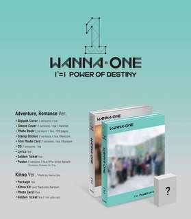 (PO) wannaone power of destiny album