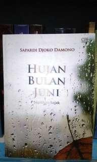 Kumpulan Puisi Hujan Bulan Juni Sapardi Djoko Damono