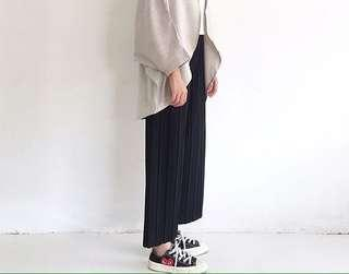 Babyshawl Black Pleated Pants #POST1111 #BlackFriday100