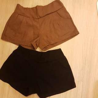 🚚 秋冬短褲(兩件合售)