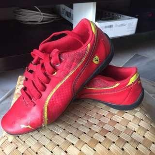 Used original Puma Ferrari shoes #BFkids