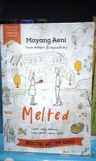 Novel Melted karya Mayang Aeni