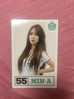 AOA Mina Heart Attack postcard