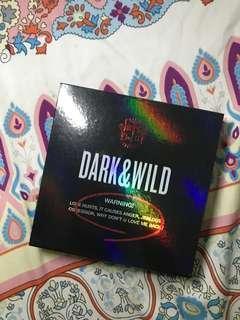 BTS' Dark & Wild Official Album w/ Photocard