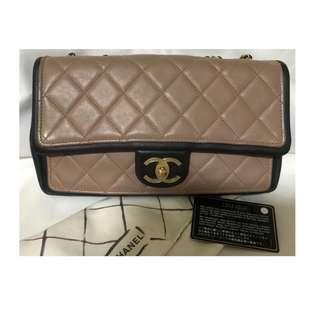 Chanel medium lambskin ghw #19 with holo, card, dustbag