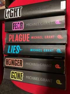 Gone series by Michael Grant