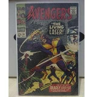 🚚 Avengers Vol. 1 #34 - 1st appearance of the Living Laser