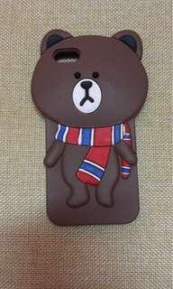 Iphone 5s bear phone case