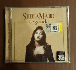 CD Sheila Majid - Legenda-  Gold Disc Limited Edition (New & Sealed)
