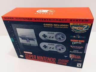 BRAND NEW! SNES Classic! Trades welcome!
