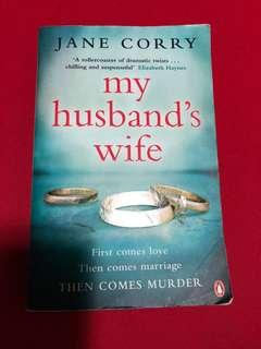 My husband's wife by Jane Corry (mailed)