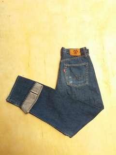 Celana jeans selvedge japan