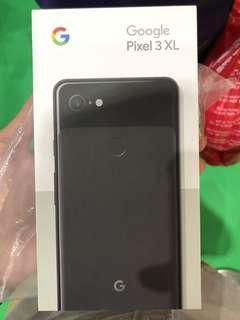 Brand New Sealed Google Pixel 3 XL 128GB Just Black