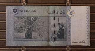 RM50 notes (rare num)