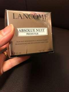 Lancôme Absolue Nuit Premium Night Cream 15ml (原價$1800/75ml)