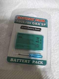 Gameboy advance sp replacement battery
