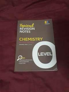 chemistry o level topical revison notes