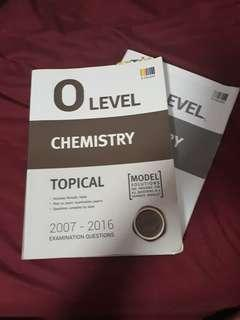 chemistry o level topical