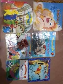 Paket buku cerita dan dongeng anak-anak bergambar 6 buku