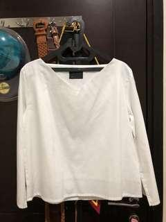ATSthelabel white blouse