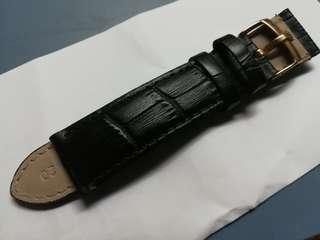 Leather Strap with rolex buckle