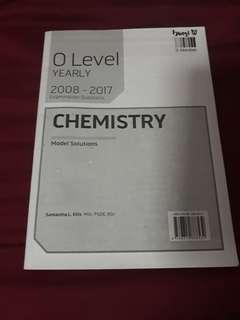 o level chemistry tys/ yearly answer booklet