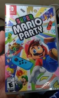 Mario Party for Nintendo Switch (SEALED COPY)