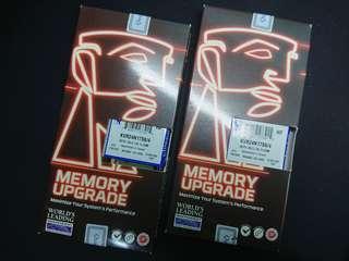 2x Kingston 4GB RAM