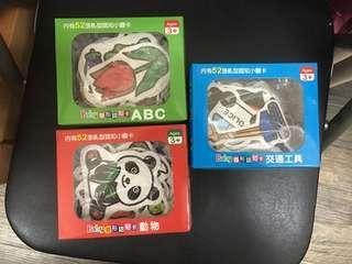 不規則閃卡3盒 flash cards