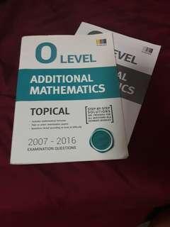 amath/ additional mathematics o level topical