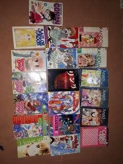 Paket komik borongan, 19 buku