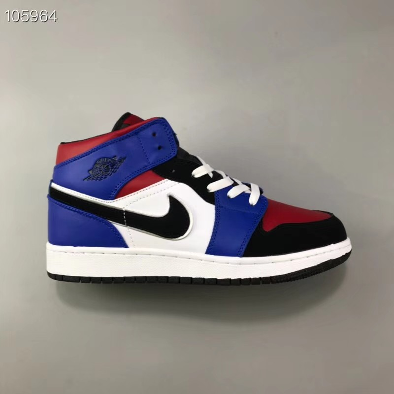 01fd0987462374 36-45 Air Jordan 1 Mid GS AJ1 Top3 554725-124