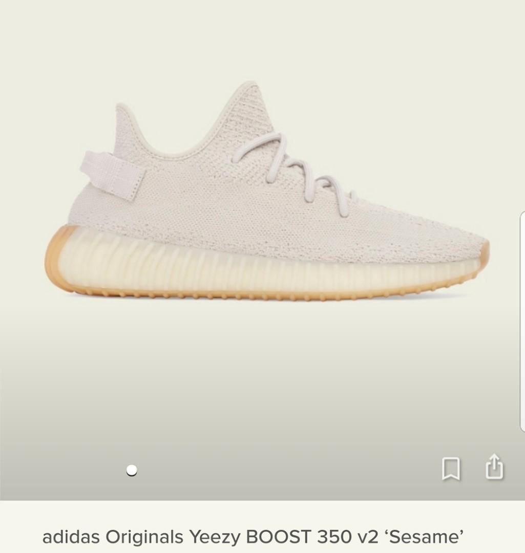 aae1eb66f Adidas originals yeezy boost 350 v2  sesame