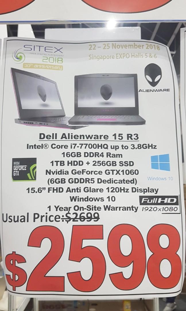 Alienware r3 brand new