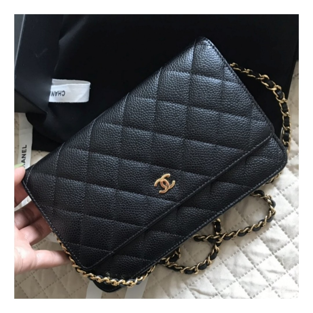 832d28691f84 Authentic Chanel Classic WOC, Luxury, Bags & Wallets on Carousell