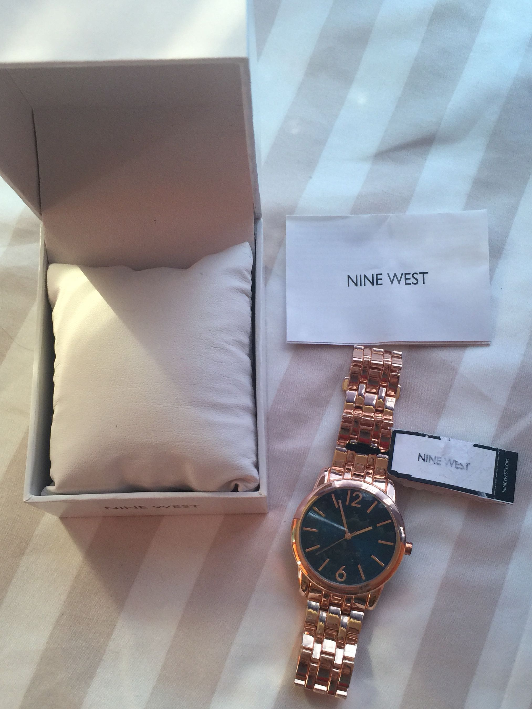 Authentic Nine West Watch Rose Gold On Carousell