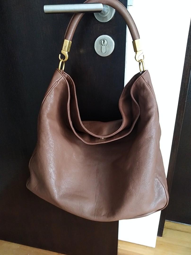 4d2f97308085 Authentic YSL Roady Hobo Bag