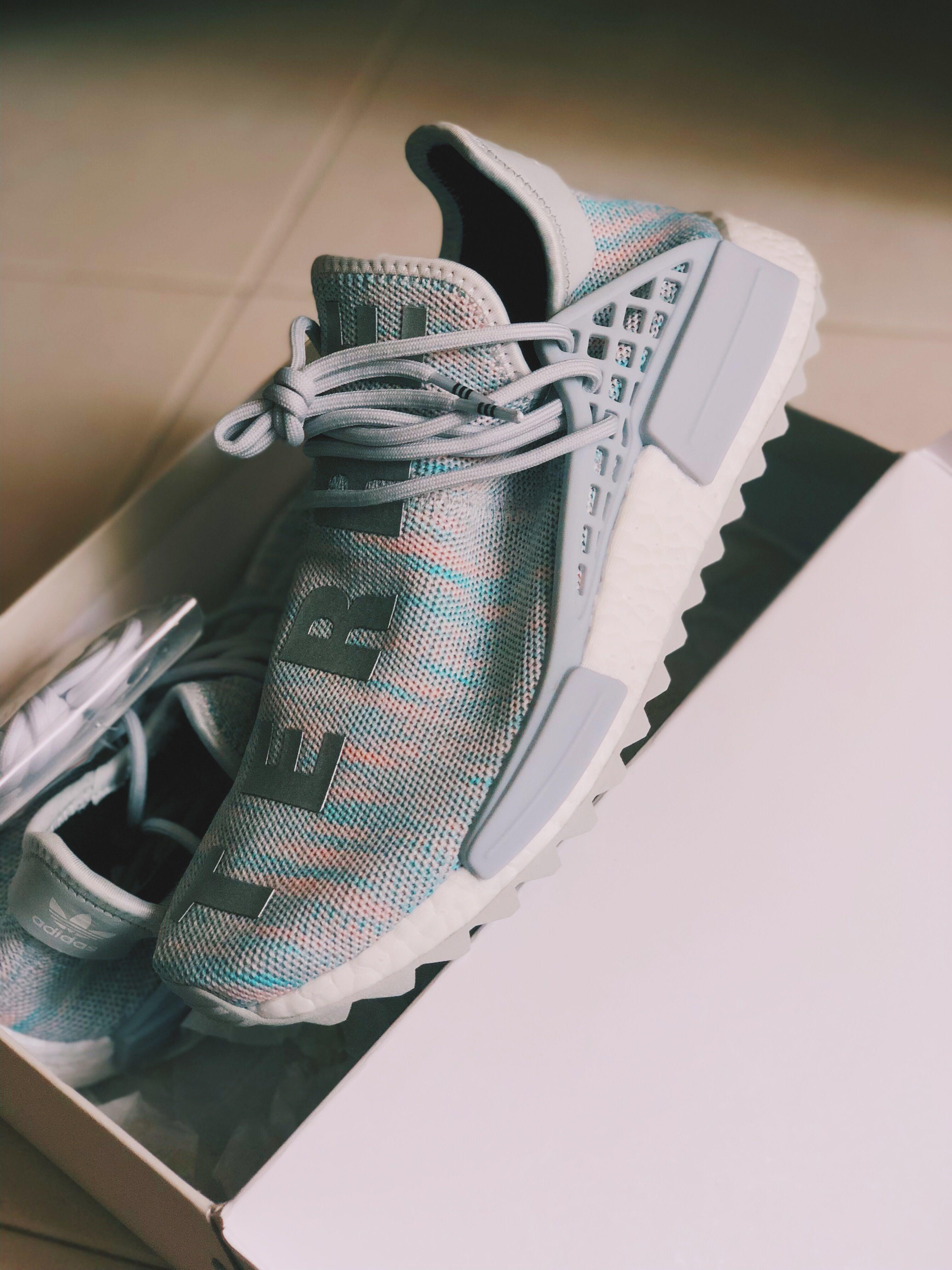 new product 2cc7f 32050 BBC x Human Race NMD Cotton Candy, Men's Fashion, Footwear ...