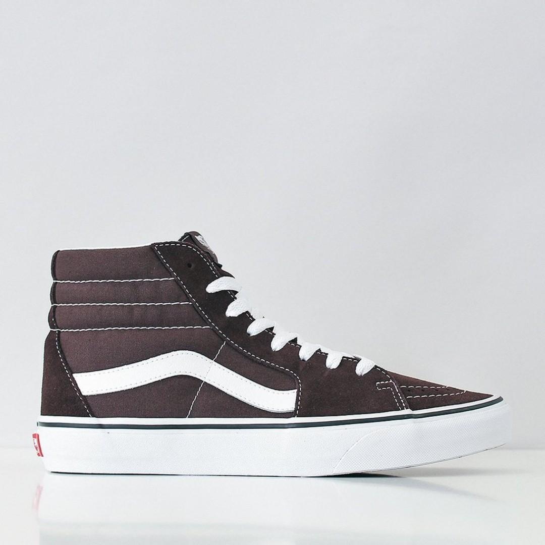 ac04cc516e2 BLACK FRIDAY DALE)Vans SK8-Hi Shoes – Chocolate Torte/True White ...