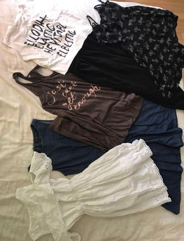Teen clothing clearance