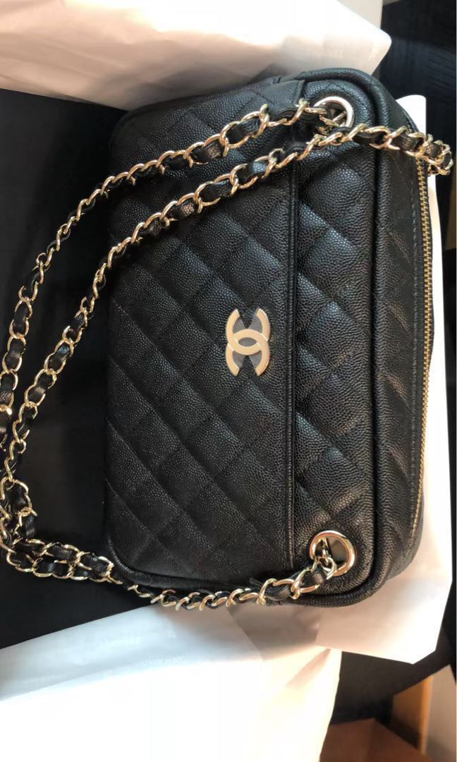 d6c47c03c4f6 Chanel camera Bag, Luxury, Bags & Wallets, Handbags on Carousell